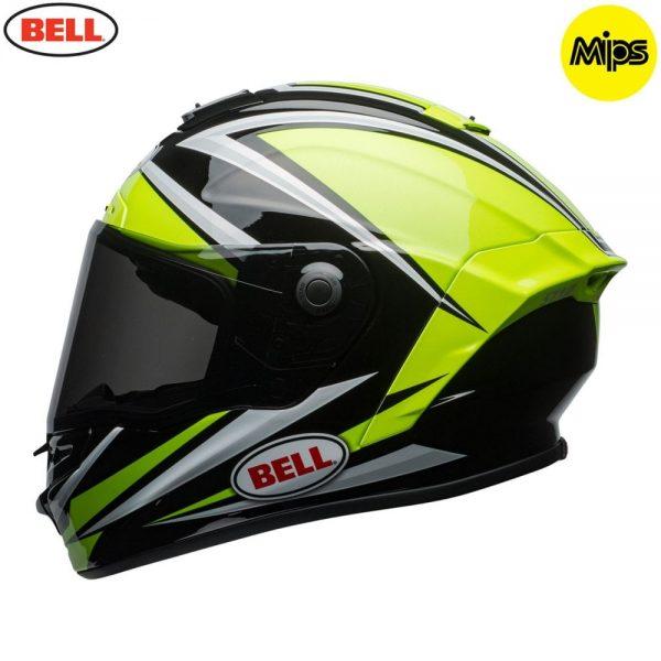 1548942154-75663300.jpg-Bell Street 2018 Star Mips Adult Helmet (Torsion Hi-Viz Green/Black)