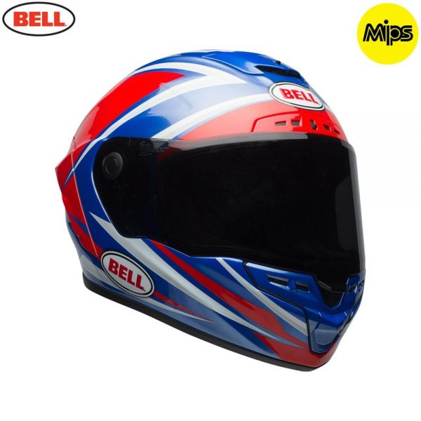 1548942163-60222300.jpg-Bell Street 2018 Star Mips Adult Helmet (Torsion Red/Blue)