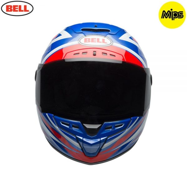 1548942165-32455700.jpg-Bell Street 2018 Star Mips Adult Helmet (Torsion Red/Blue)