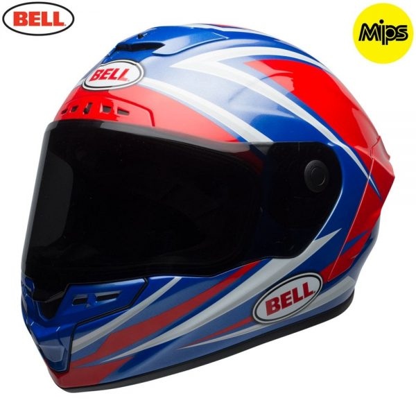 1548942167-33380600.jpg-Bell Street 2018 Star Mips Adult Helmet (Torsion Red/Blue)