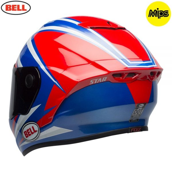 1548942171-94647200.jpg-Bell Street 2018 Star Mips Adult Helmet (Torsion Red/Blue)