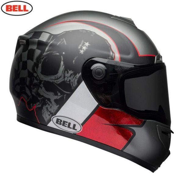 1548942179-55124800.jpg-Bell Street 2018 SRT Adult Helmet (Hart Luck Charcoal/White/Red)