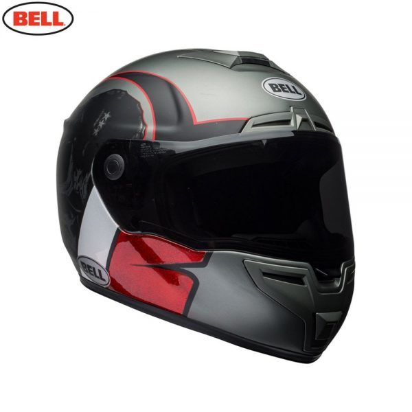 1548942181-89965500.jpg-Bell Street 2018 SRT Adult Helmet (Hart Luck Charcoal/White/Red)