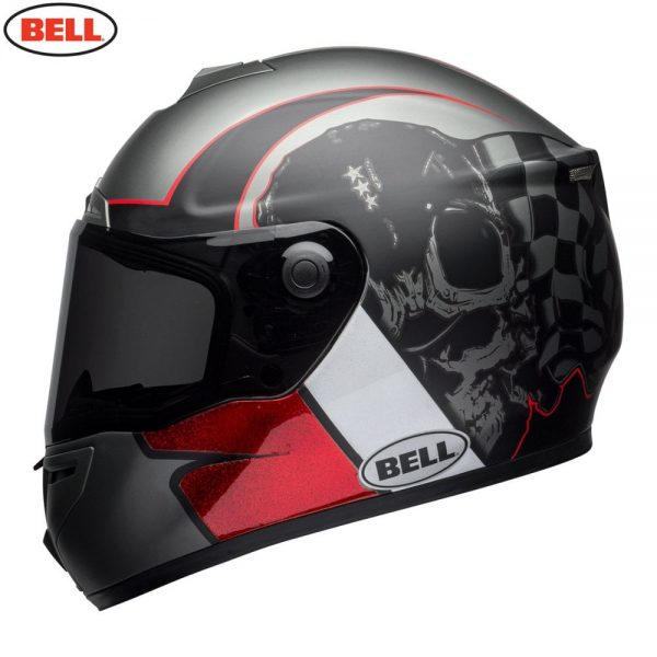 1548942187-60903500.jpg-Bell Street 2018 SRT Adult Helmet (Hart Luck Charcoal/White/Red)