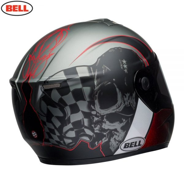 1548942193-87991000.jpg-Bell Street 2018 SRT Adult Helmet (Hart Luck Charcoal/White/Red)