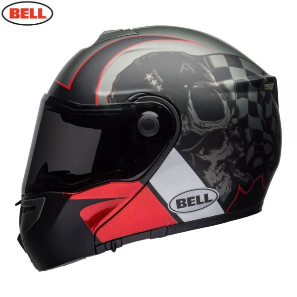 1548942294-84348600.jpg-Bell Street 2018 SRT Modular Adult Helmet (Hart Luck Charcoal/White/Red)