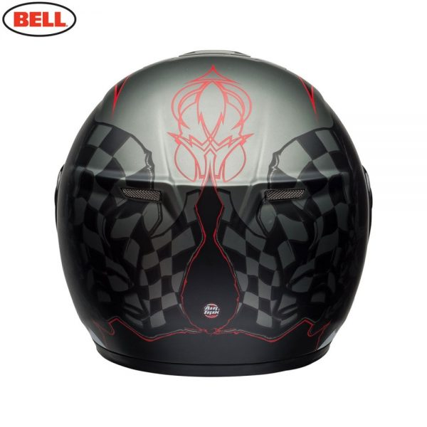 1548942298-79429900.jpg-Bell Street 2018 SRT Modular Adult Helmet (Hart Luck Charcoal/White/Red)