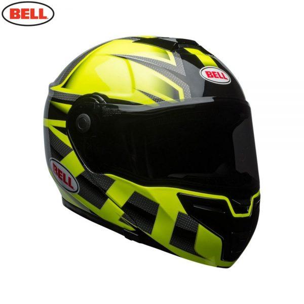 1548942325-35215200.jpg-Bell Street 2018 SRT Modular Adult Helmet (Predator Hi-Viz Green/Black)