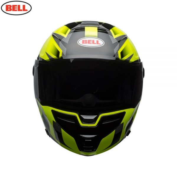 1548942327-85010700.jpg-Bell Street 2018 SRT Modular Adult Helmet (Predator Hi-Viz Green/Black)