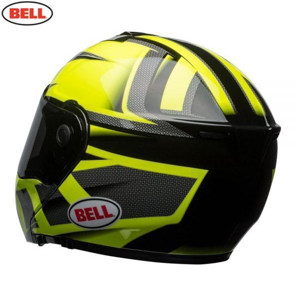 1548942334-05299700.jpg-Bell Street 2018 SRT Modular Adult Helmet (Predator Hi-Viz Green/Black)