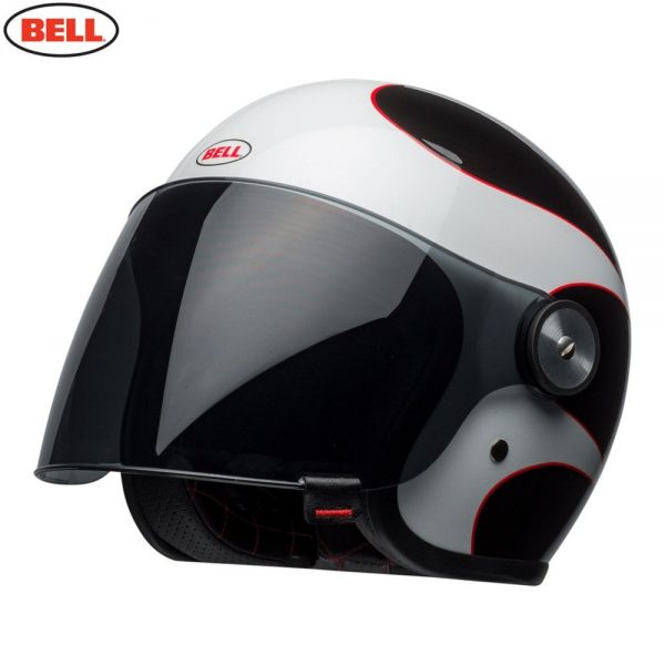 1548942375-13018900.jpg-Bell Cruiser 2018 Riot Adult Helmet (Boost White/Black/Red)