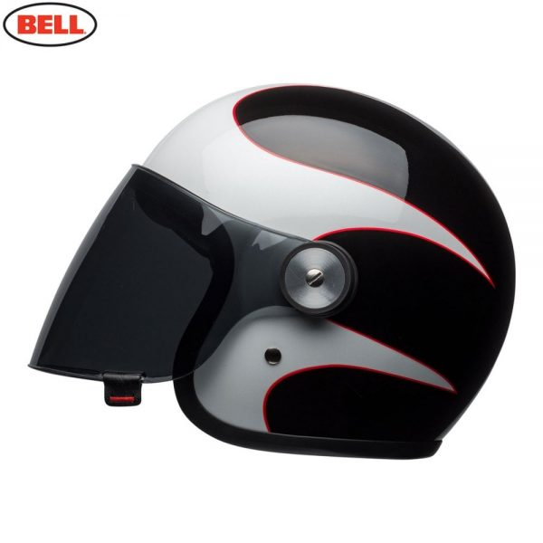 1548942376-60841900.jpg-Bell Cruiser 2018 Riot Adult Helmet (Boost White/Black/Red)