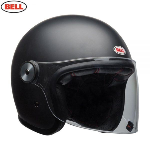 1548942384-59833700.jpg-Bell Cruiser 2018 Riot Adult Helmet (Matte Black)
