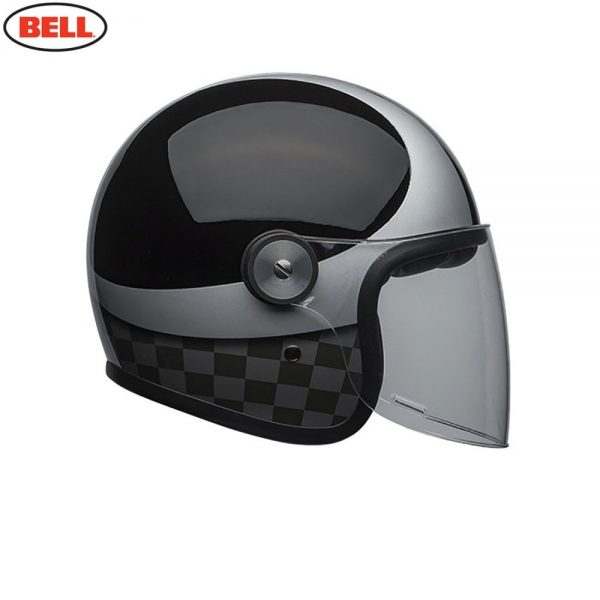 1548942402-27406700.jpg-Bell Cruiser 2018 Riot SE Adult Helmet (Checks Black/Silver)