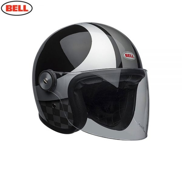 1548942404-09390600.jpg-Bell Cruiser 2018 Riot SE Adult Helmet (Checks Black/Silver)