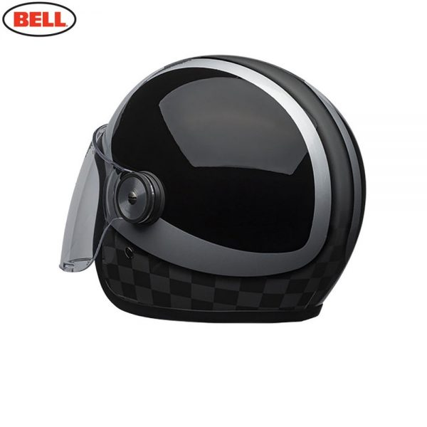 1548942410-78976200.jpg-Bell Cruiser 2018 Riot SE Adult Helmet (Checks Black/Silver)