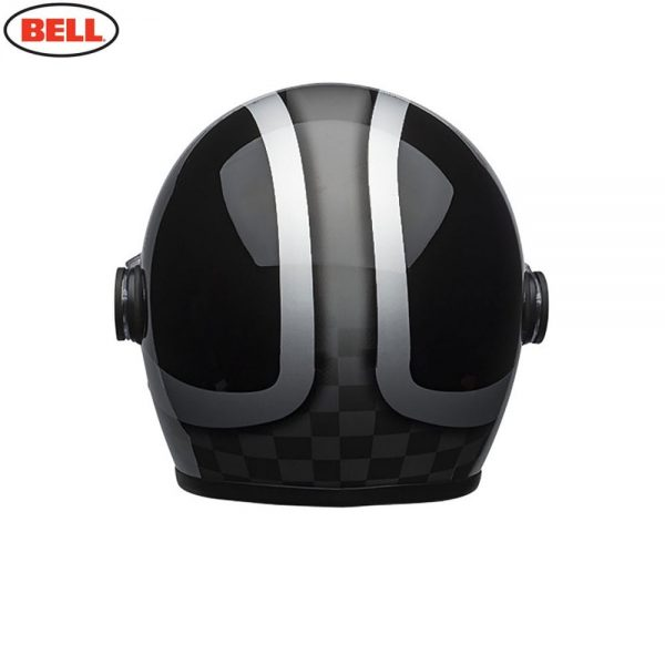 1548942412-61373100.jpg-Bell Cruiser 2018 Riot SE Adult Helmet (Checks Black/Silver)