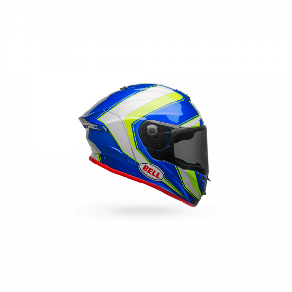 1548944815-42156200.png-Bell Street 2018 Race Star Adult Helmet (Sector White/Hi-Viz Green/Blue)