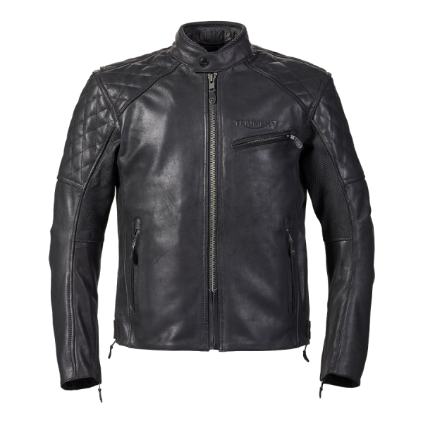 arno black front-ARNO QUILTED JACKET