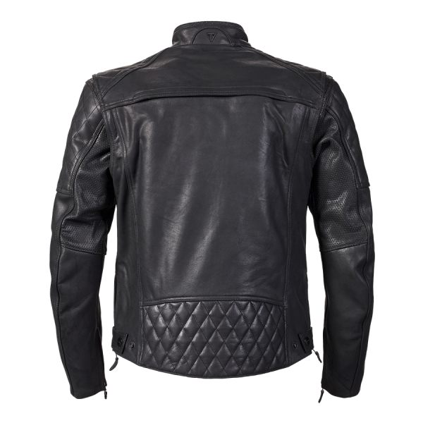 arno black rear-ARNO QUILTED JACKET