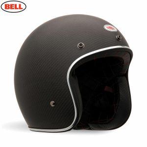 Bell 2021 Cruiser Custom 500 Carbon DLX Adult Helmet (Carbon Matte)