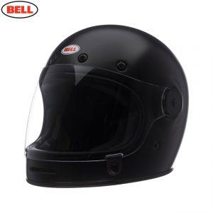 Bell 2021 Cruiser Bullitt DLX Helmet (Solid Matte Black)