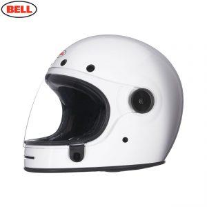 Bell 2021 Cruiser Bullitt DLX Adult Helmet (Gloss White)