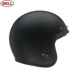 Bell 2021 Cruiser Custom 500 Adult Helmet (Solid Matte Black)