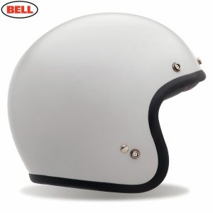 Bell 2021 Cruiser Custom 500 Adult Helmet (Solid Vintage White)