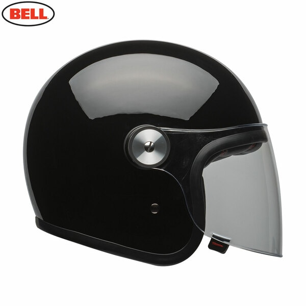 Riot-Solid-Black_1__92330.1541784435.jpg-Bell 2021 Cruiser Riot Adult Helmet (Solid Black)