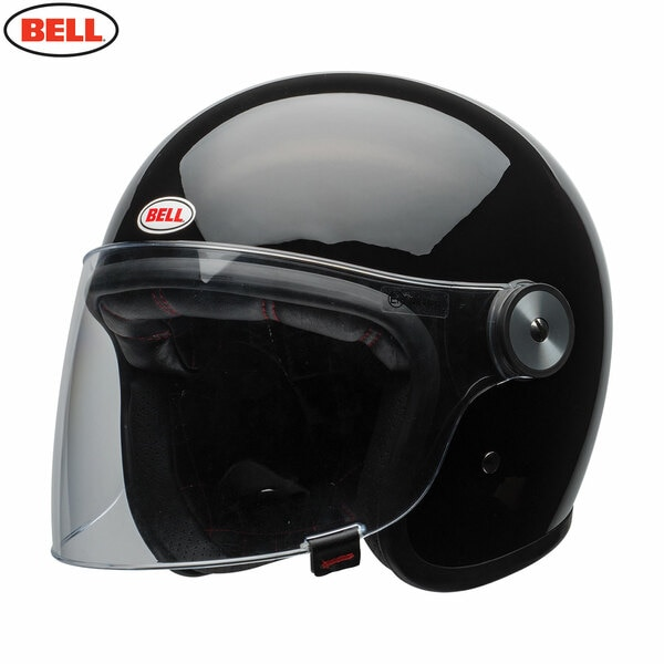 Riot-Solid-Black_3__68646.1485875548.jpg-Bell 2021 Cruiser Riot Adult Helmet (Solid Black)
