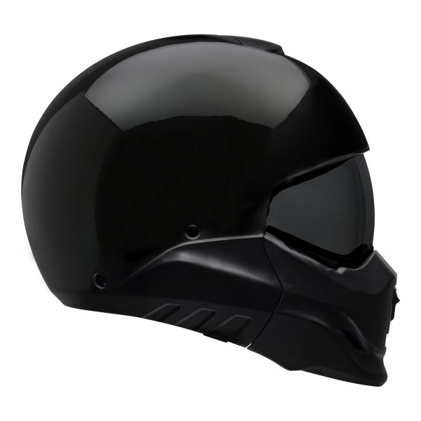 bell-broozer-street-helmet-gloss-black-right__69876.jpg-Bell Cruiser 2021 Broozer Adult Helmet (Solid Black)