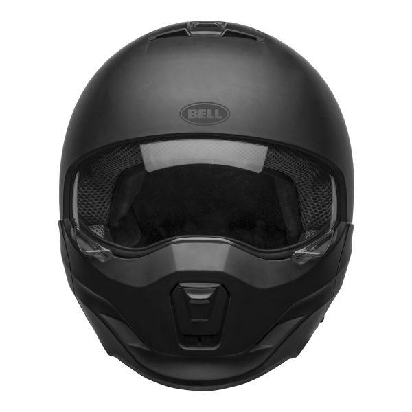 bell-broozer-street-helmet-matte-black-front-clear-shield__36465.jpg-Bell Cruiser 2021 Broozer Adult Helmet (Solid Matte Black)