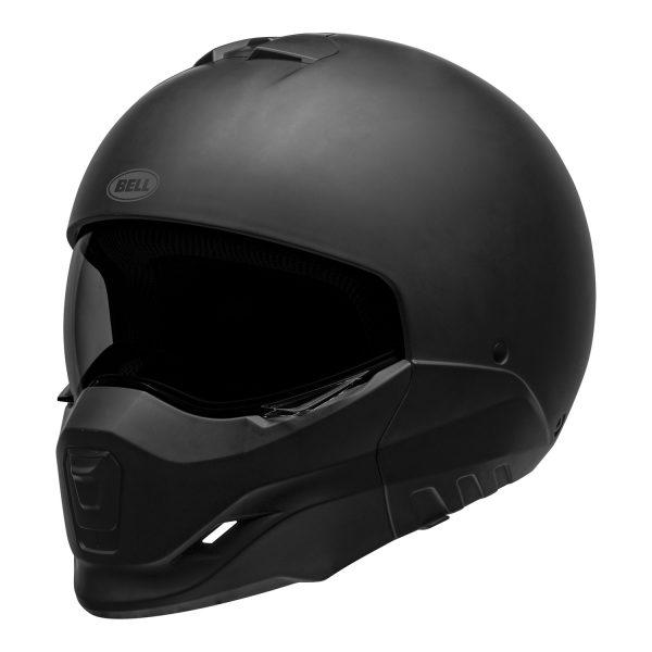 bell-broozer-street-helmet-matte-black-front-left__49902.jpg-Bell Cruiser 2021 Broozer Adult Helmet (Solid Matte Black)