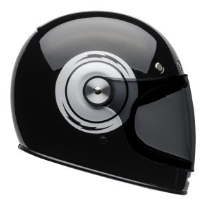 Bell 2021 Cruiser Bullitt Adult Helmet (Bolt Black/White)