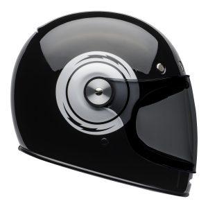 Bell 2021 Cruiser Bullitt Adult Helmet (Bolt Black/White)