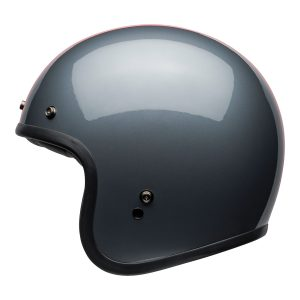 Bell Crusier 2021 Custom 500 DLX Adult Helmet (Rally Gloss Grey/Red)