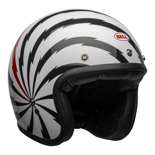 bell-custom-500-se-culture-helmet-vertigo-gloss-white-black-red-front-right__53673.1601552599.jpg-Bell Cruiser 2021 Custom 500 SE Adult Helmet (Vertigo White/Black/Red)