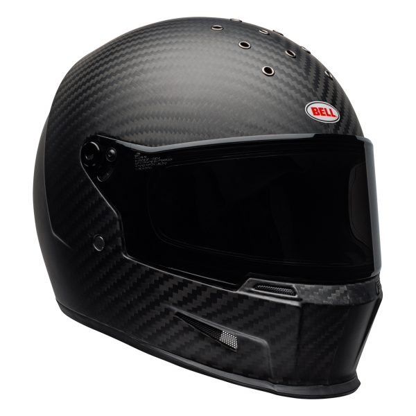 bell-eliminator-carbon-culture-helmet-matte-black-front-right__92156.jpg-Bell Cruiser 2021 Eliminator Carbon Adult Helmet (Solid Matte Black)