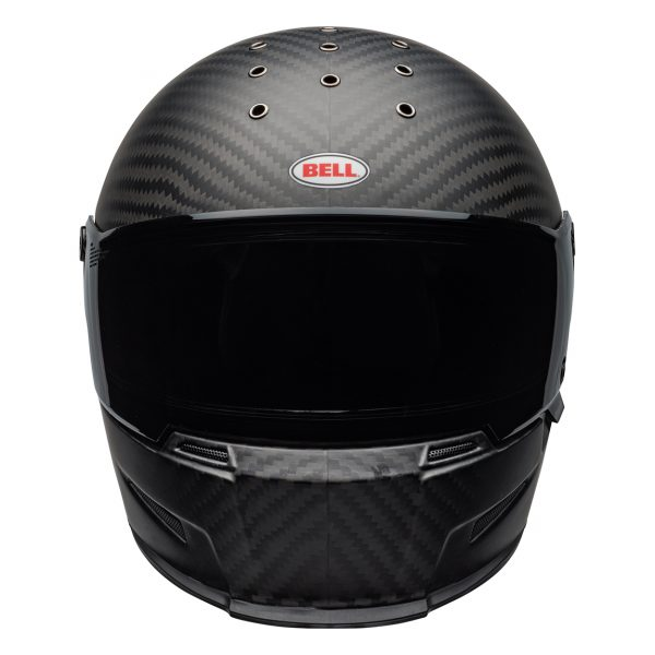 bell-eliminator-carbon-culture-helmet-matte-black-front__42754.jpg-Bell Cruiser 2021 Eliminator Carbon Adult Helmet (Solid Matte Black)