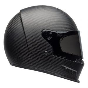 Bell Cruiser 2021 Eliminator Carbon Adult Helmet (Solid Matte Black)