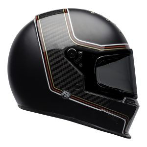 Bell 2021 Cruiser Eliminator Carbon Adult Helmet (RSD The Charge Helmet M/G Black)