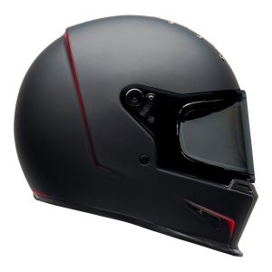 Bell 2021 Cruiser Eliminator Adult Helmet (Vanish Matte Black/Red)