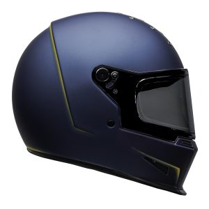 Bell 2021 Cruiser Eliminator Adult Helmet (Vanish Matte Blue/Yellow)