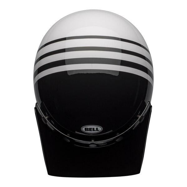 bell-moto-3-culture-helmet-reverb-gloss-white-black-top__51839.1601552301-1.jpg-Bell Cruiser 2021 Custom 500 SE Adult Helmet (Vertigo White/Black/Red)