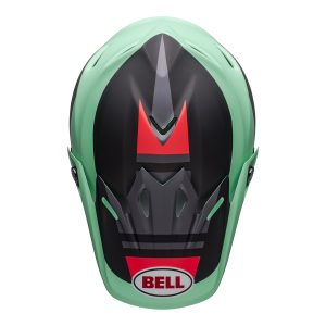 Bell MX 2021 Moto-9 Mips Adult Helmet (Prophecy Matte Green/Infrared/Black)