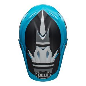 Bell MX 2021 Moto-9 Mips Adult Helmet (Prophecy Matte White/Black/Blue)