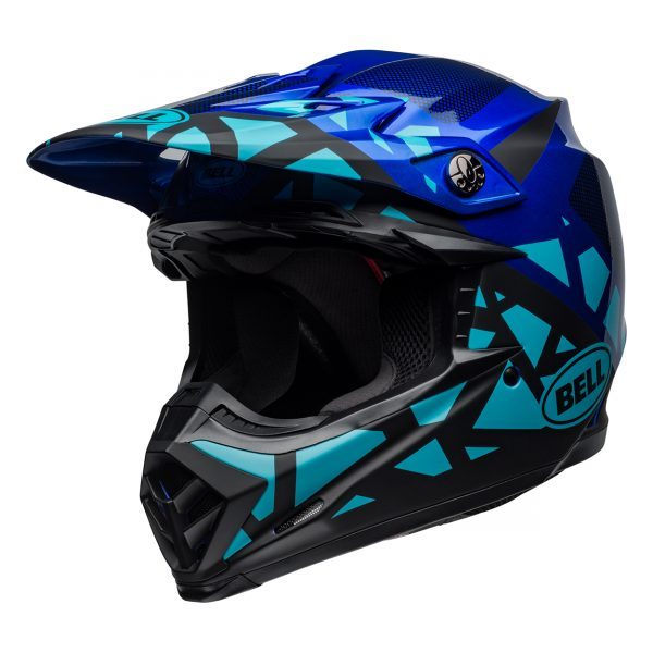 bell-moto-9-mips-dirt-helmet-tremor-matte-gloss-blue-black-front-left__62899.jpg-Bell MX 2021 Moto-9 Mips Adult Helmet (Tremor Blue/Black)