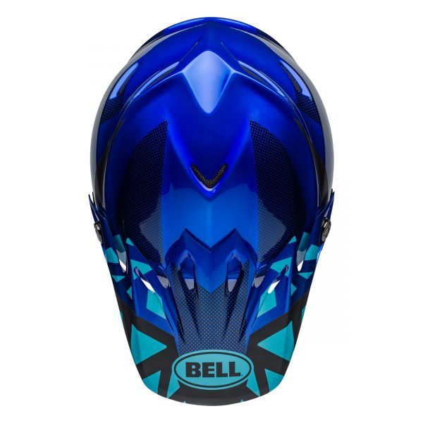 bell-moto-9-mips-dirt-helmet-tremor-matte-gloss-blue-black-top__91516.jpg-Bell MX 2021 Moto-9 Mips Adult Helmet (Tremor Blue/Black)