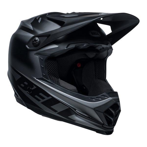 bell-moto-9-youth-mips-dirt-helmet-glory-matte-black-front-right.jpg-Bell MX 2021 Moto-9 Youth MIPS Helmet (Glory Matte Black)